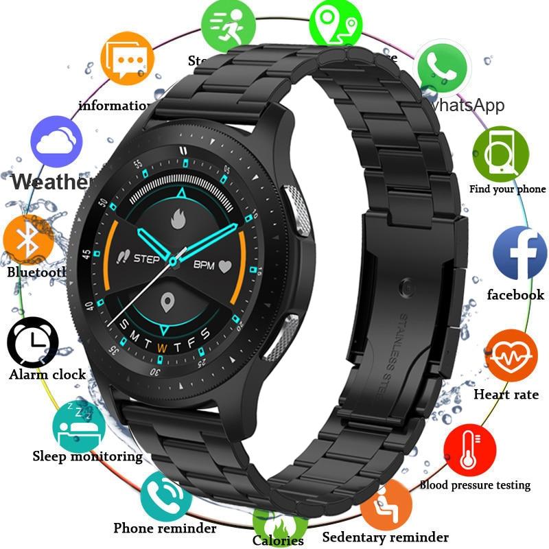 Smart Watch Men Bluetooth Call Fitness Tracker Smartwatch Women IP67 Waterproof Blood Pressure WhatsApp Clock For Android IOS