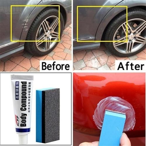 Simple Car Repair Car Body Compound Paste Set Scratch De-mark Abrasive Paint Care Auto Polishing Gri