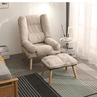 armchairs sofas folding lounger office chairs nordic relax bed chair clamshell home furniture reclinable lounge living room