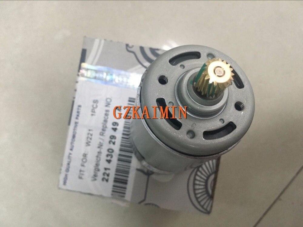 Alta qualidade e novo motor do atuador de freio de estacionamento para mercedes w221 s cl classe s350, s400, s550, cl550 2214302949a N-E-W