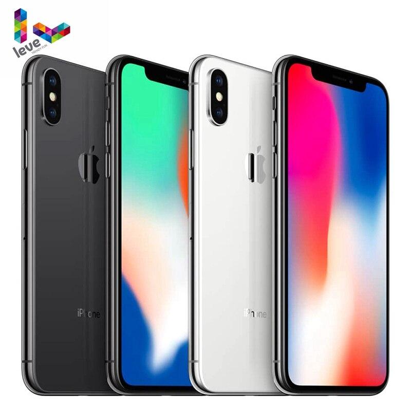 "Originele Ios Apple Iphone X Gezicht Id 64 Gb/256 Gb Rom 3 Gb Ram Hexa Core A11 5.8 ""12MP Dual Back Camera 4G Lte Unlocked Mobiele Telefoon"