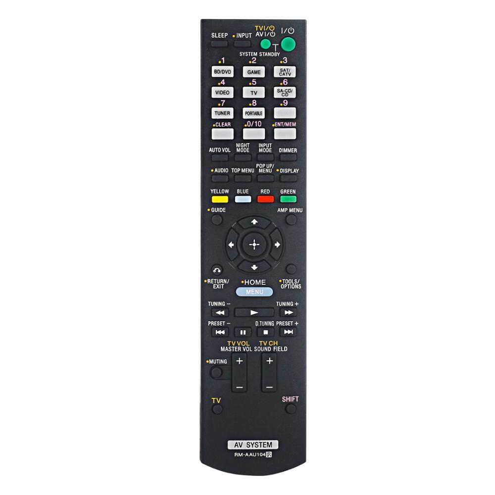 Новый пульт дистанционного управления RM-AAU104 для sony Аудио плеер приемник STR-DH520 STR-DN610 STR-DH710 STR-KS380 STR-KS470