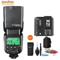 Godox TT600 TT600S 2.4G Wireless TTL 1/8000s Flash Speedlite + X2T-C/N/S/F/O/P Trigger for Canon Nikon sony fuji olympus