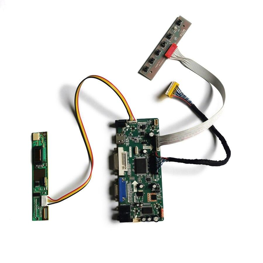 شاشة مقاس 30 سنًا لـ LP150E02/LP150E05/LP150E06/LP150E07 مجموعة لوحة تحكم عرض M.NT68676 1CCFL VGA + DVI LVDS 1400*1050