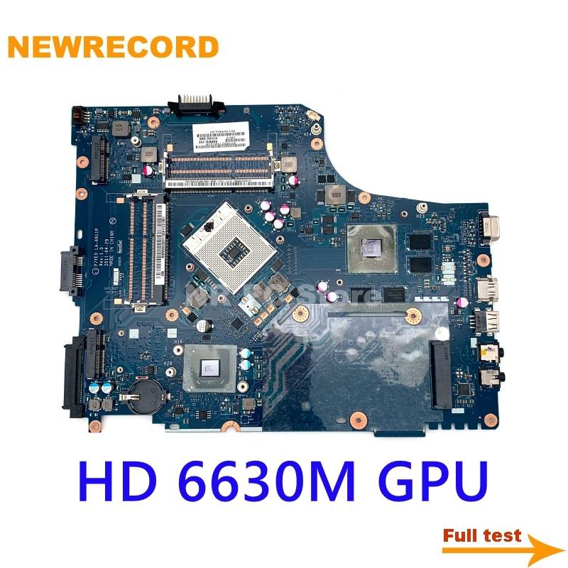 NEWRECORD P7YE0 LA-6911P ل acer aspire 7750 7750G MBRMK02001 MBBYR02001 NBV5E11001 MBRCZ02002 HD 6630M HM65 DDR3 كامل اختبار