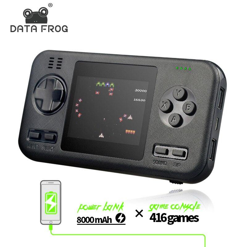 Portable handheld game console tiktok, the same character creative Mini handheld.