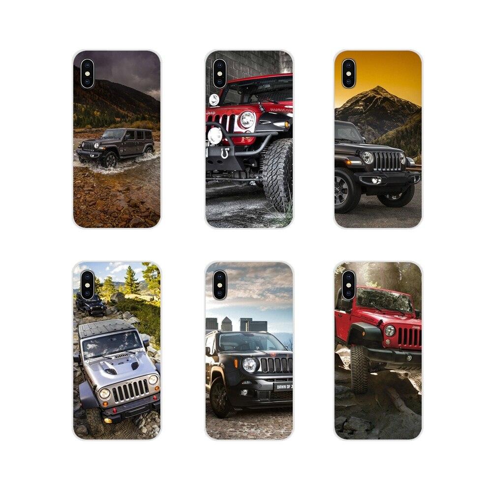 Аксессуары для телефона в виде ракушки Чехлы для jeeps Wrangler для samsung Galaxy S3 S4 S5 мини S6 S7 край S8 S9 S10 Lite Plus Note 4 5 8 9