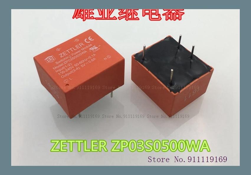ZP03S0500WA 100-24V 50-60HZ-0.1A 5V