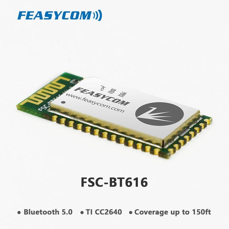 FEASYCOM TI CC2640R2F Bluetooth 5,0 BLE модуль с поддержкой главного Slave модуля для передачи данных