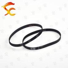 Courroie de synchronisation caoutchouc 2 gt220band   Boucle fermée, roue de ceinture dimprimante 10mm 3 d 10 pièces 2gt220band 220mm large