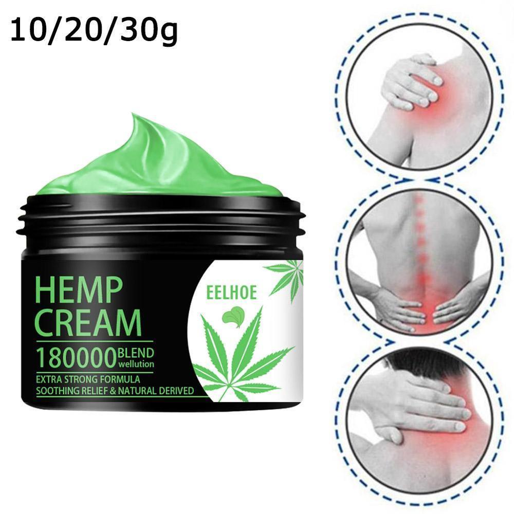 Relief Back Muscle Pain Sprain Arthritis Pain Hemp Soothing Cream for Pain Relief Anxiety Sleep Anti Inflammatory Extract недорого