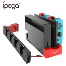 Support de quai de charge de chargeur de contrôleur de PG-9186A pour Nintendo Switch Joy-Con pour n-switch Dock pour n-switch Console de jeu JoyCon