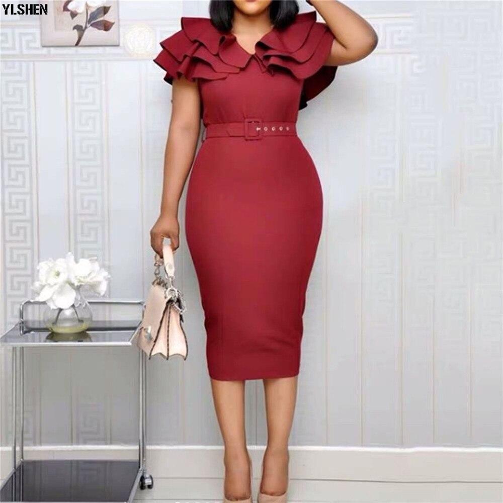 2020 été robes africaines pour femmes Robe Africaine Femme nouveau Style longue Robe vêtements traditionnels africains tenues pour dames