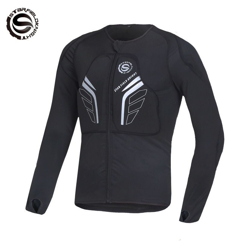 STAR FIELD KNIGHT Motorcycle Jackets Comfortable Breathable Flexible Highlight Reflective Protective Gears Moto Riding