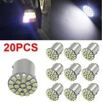 20pcs ba15s 1156 3014 22smd led turn signal backup reverse led light bulbs