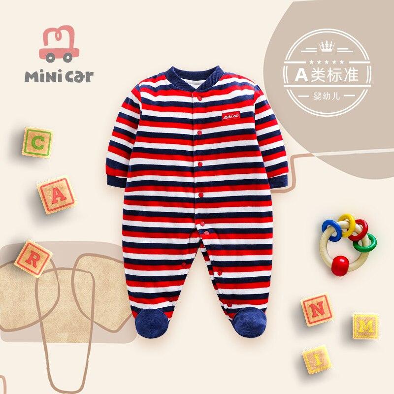 Автомобильная детская одежда детская цельная одежда Детский Зимний Тонкий хлопковый комбинезон Теплая детская одежда