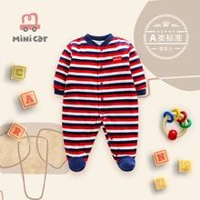Car children's clothes baby one piece clothes baby winter thin cotton Romper warm children's clothes
