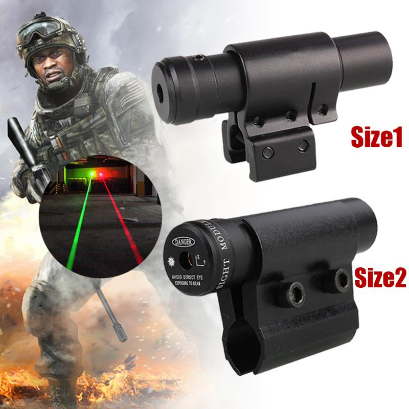 Red Laser Sight with 20mm/11mm Rail Mount Laser Dot Sight Tactical Hunting Optical Collimator Sight