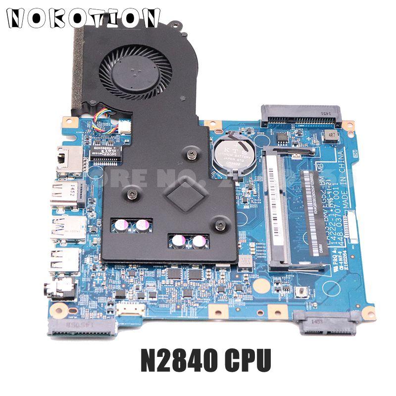 NOKOTION NBMRW11002 NB. MRW11.002 لشركة أيسر أسباير ES1-512 اللوحة الأم للكمبيوتر المحمول EA53-BM اللوحة الرئيسية EG52-BM اللوحة الرئيسية N2840 CPU DDR3