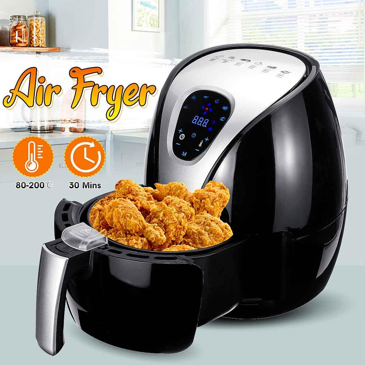 1500w fritadeira de ar multi funcional fogao de saude digital temporizador forno