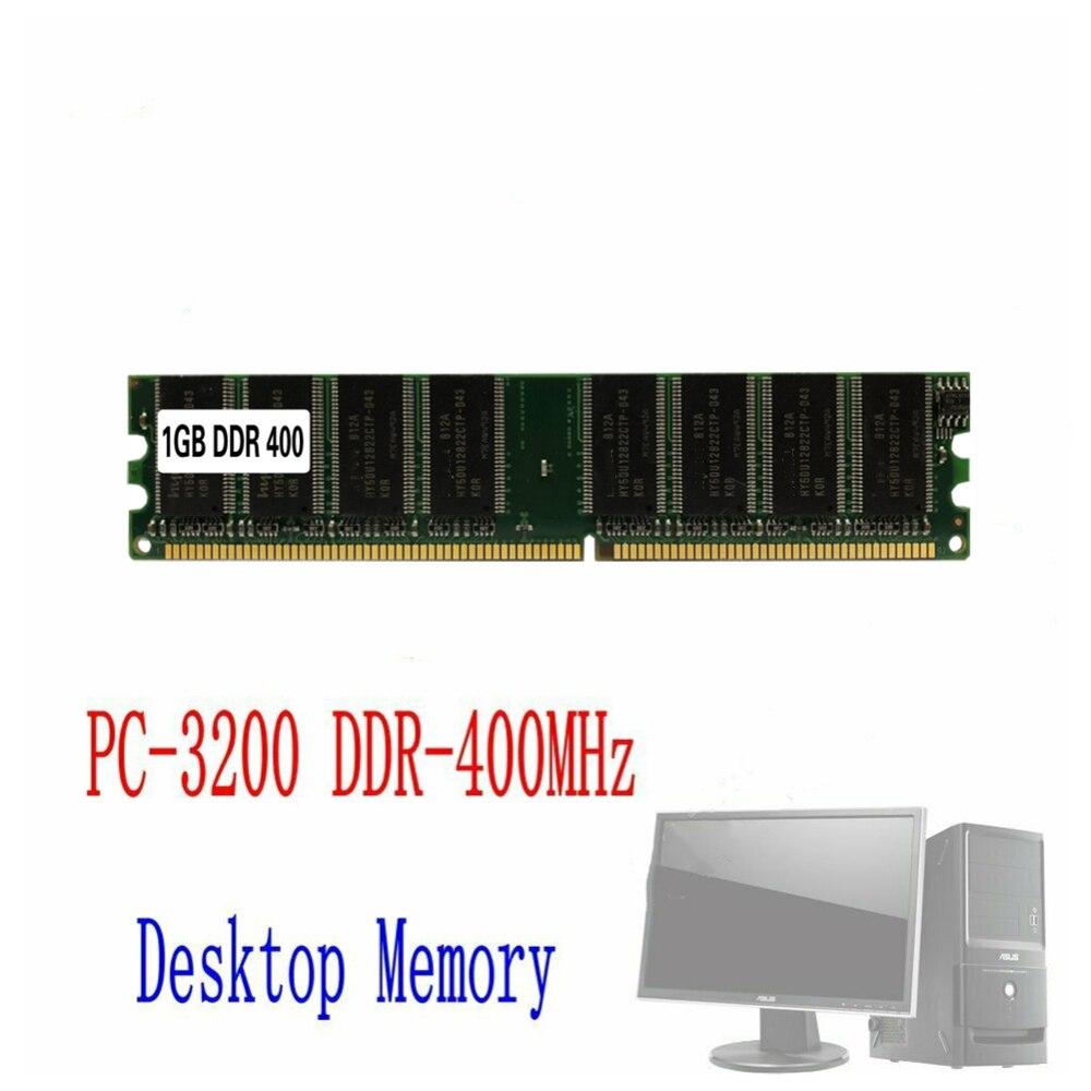 1GB DDR RAM 400 Mhz PC3200 No-Ecc memoria Ram DIMM 184 pin-SDRAM...