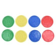 80 pièces/ensemble jetons de Poker en plastique Casino Bingo marqueurs jeton Fun famille Club jeux de société jouet cadeau créatif couleur mixte 38mm