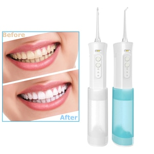 Portable Teeth Cleaner Water Dental Floss Electric Scaler Calculu Tartar Remover USB Rechargeable Water Jet for Cleaning Teeth