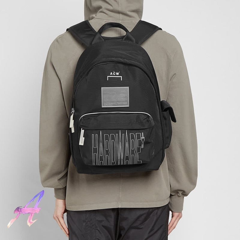 a cold wall деловые сумки 3M Reflective A-COLD-WALL BACKPACK Cold Wall High Quality Nylon Backpack ACW Men Women Fashion Casual Multifunctional Backpack