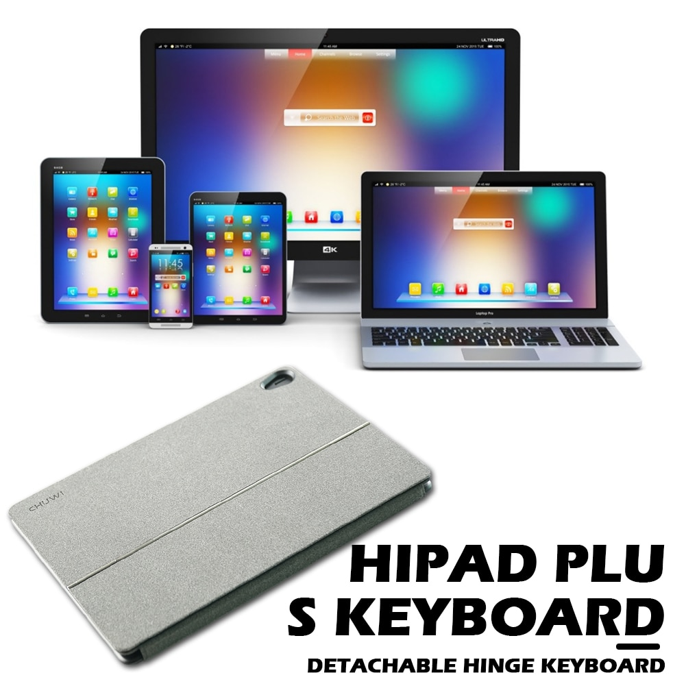 Wireless Tablet PC Keyboard Replacement DOCKING Portable Keypad for 11 inch CHUWI HiPad Plus Accessories Computer Peripherals