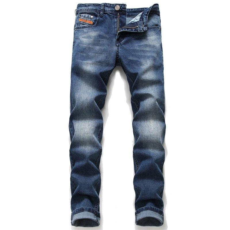 European men dsq Italy famous brand jeans pants Men slim jeans zipper straight jeans pants gentleman black hole jeans for men