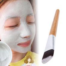 Fibre visage masque brosse bricolage boue mélange Facial fond de teint peau femme fille cosmétique outil maquillage brosse doux soins du visage applicateur outil