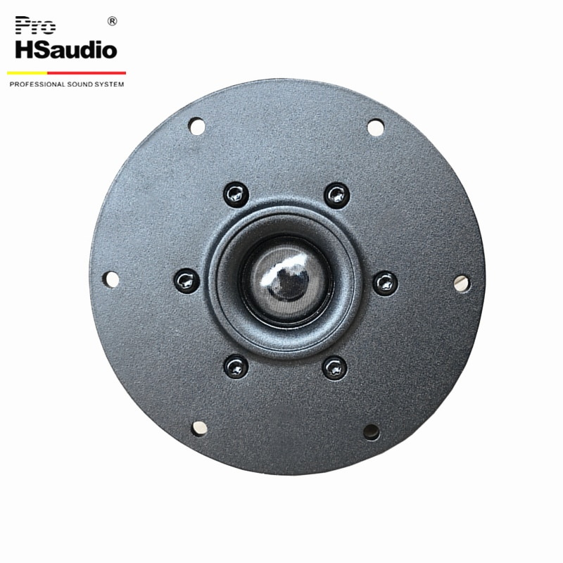 ProHSaudio HSSD1.1-A Aluminum-Faced Cricket Top HF Speakers, Home Theater Series Drive Units Suitable For Use in  3-Way Systems enlarge