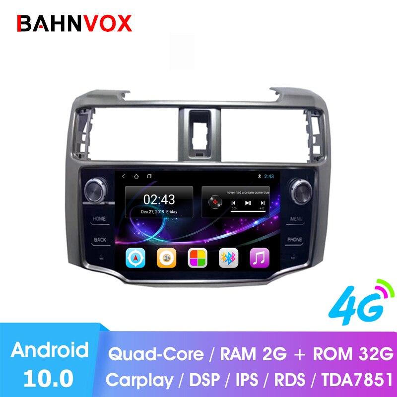 """9 """"android 10.0 voiture gps lecteur dvd pour Toyota 4runner 4runner 2010 2015 autoradio lecteur multimédia navigation unité de tête"""