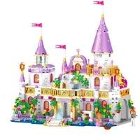 girl princess villa windsor castle model building blocks bricks set toys for children girls gift compatible lepinblocks