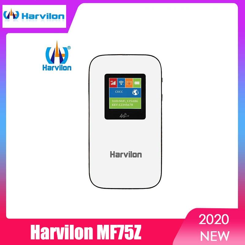 Harvilon MF75Z 4G SIM Card WiFi Router Portable Mobile Hotspot WIFI Modem LTE
