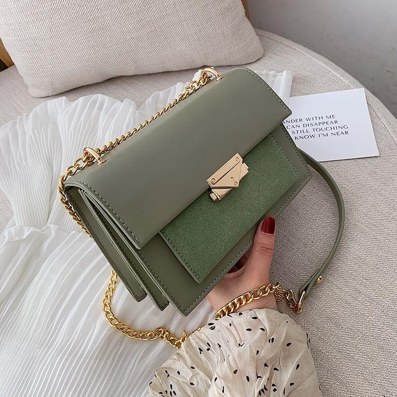 Handbag Small Bag Shoulder Bag Fashion Western Style Chain Slung Small Square Bag Purses and Handbags Luxury Designer Satchels
