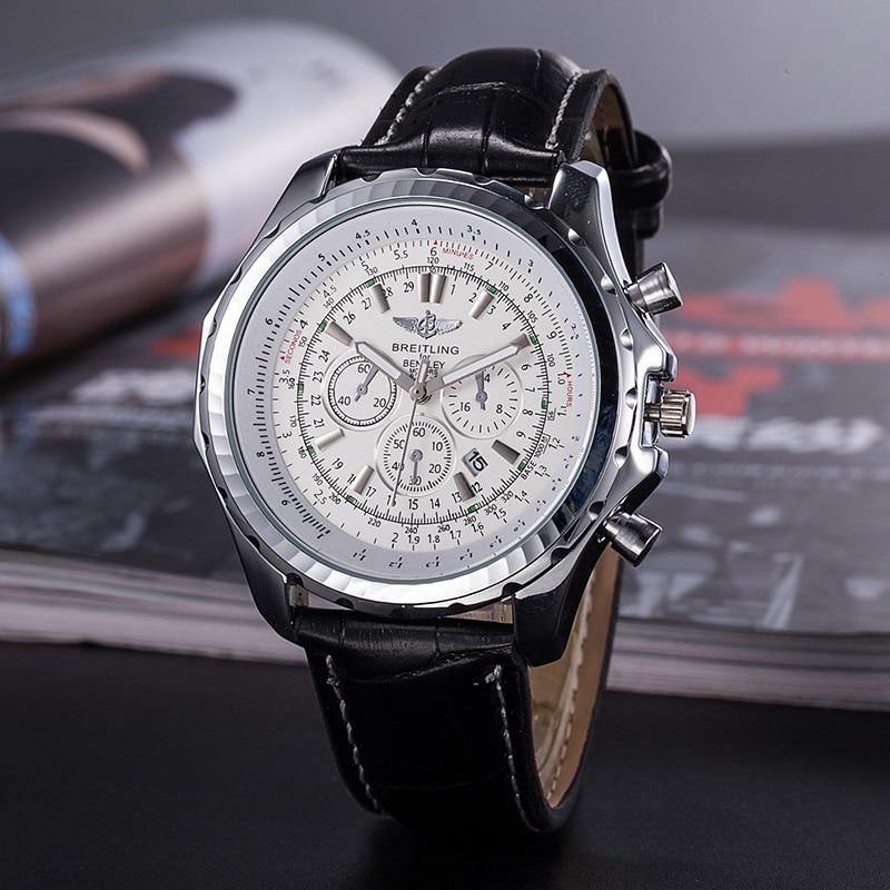 2020 Breitling reloj de pulsera de lujo para hombre y mujer relojes de cuarzo con correa de acero relojes hombre automatic6