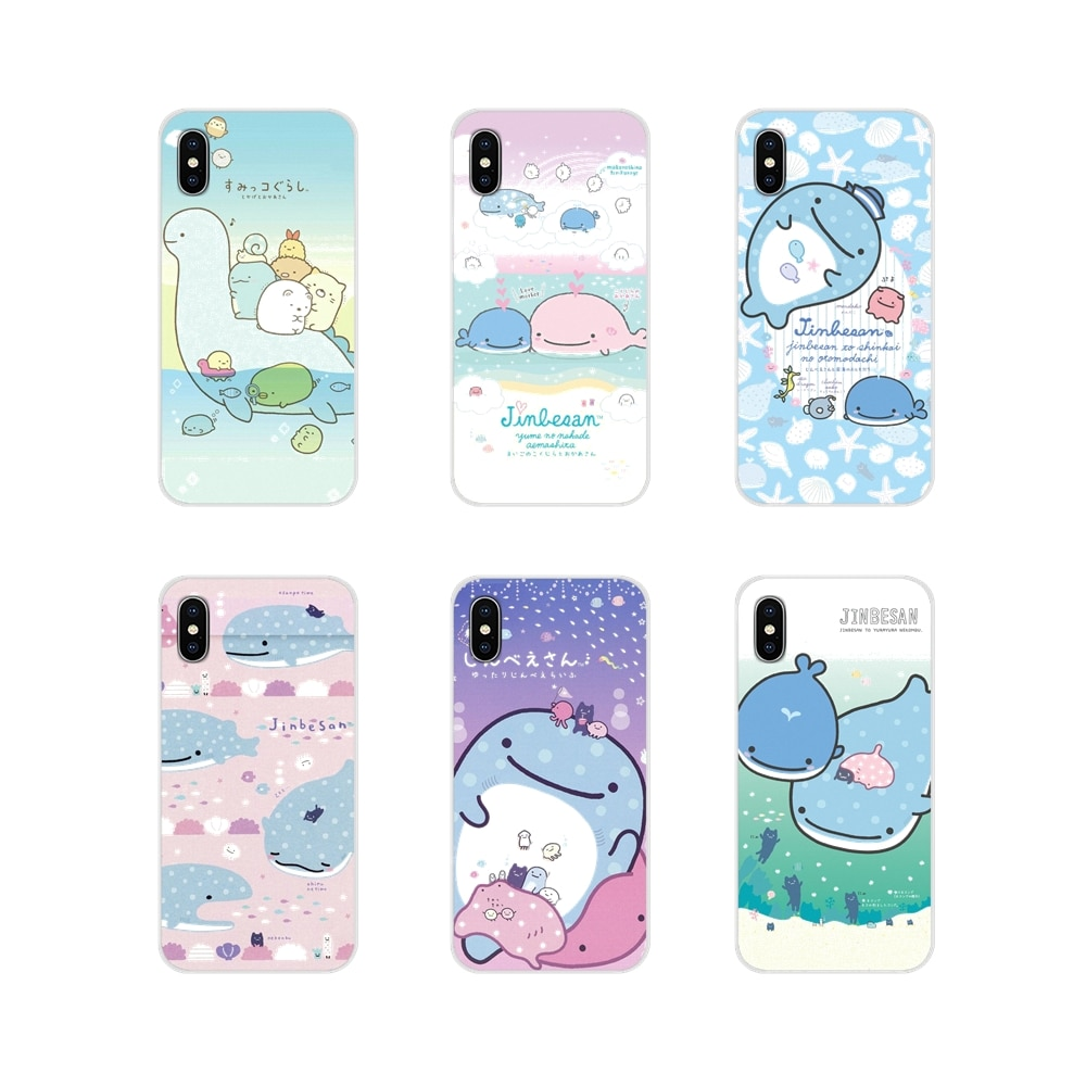 Transparent Soft Skin Case japan kawaii Whale Shark For Oneplus 3T 5T 6T Nokia 2 3 5 6 8 9 230 3310 2.1 3.1 5.1 7 Plus 2017 2018