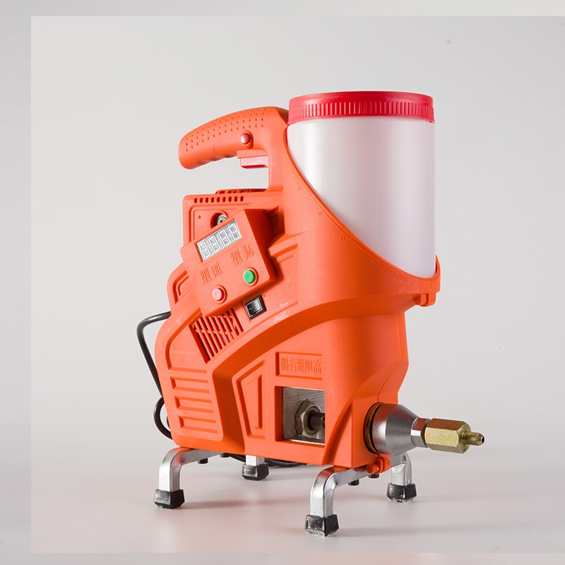W-8200 مقاوم للماء الجدار إصلاح البولي يوريثين آلة الحشو 220 فولت/1100 واط الكهربائية جهاز ذكي للتحكم عن بُعد مضخة حشو