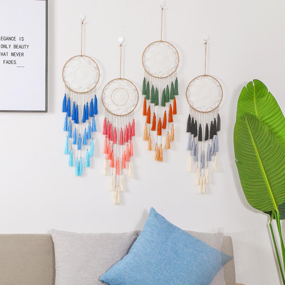 Atrapasueños hecho a mano, artículo colgante para decorar el hogar, coche y...