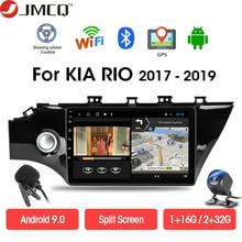 JMCQ 2G+32G Android 9.0 Car Radio Multimedia Video Player For KIA RIO 4 2017-2019 DSP GPS Navigation 2 din Head Unit Bluetooth