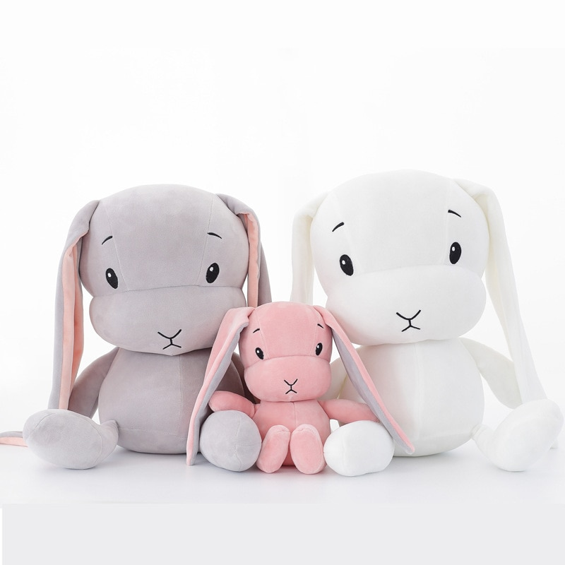 50CM 30CM Cute rabbit plush toys Bunny Stuffed &Plush Animal Baby Toys doll baby accompany sleep toy