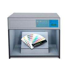 Caisson lumineux de chambre de correspondance de couleur de TextiLe pour linspection