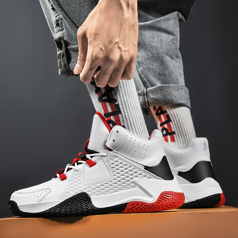 Mens Basketball Shoes Mesh Couple Sports Gym Trainer Athletic Sneakers for Women Zapatillas De Deporte Zapatos