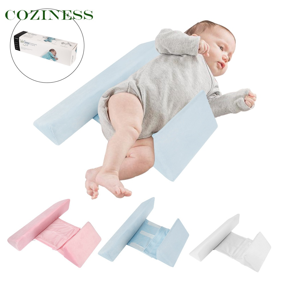 COZINESS Детские подушки, подушка для сна на боку, треугольное сочетание постельных принадлежностей, съемные моющиеся подушки для кормления гр...