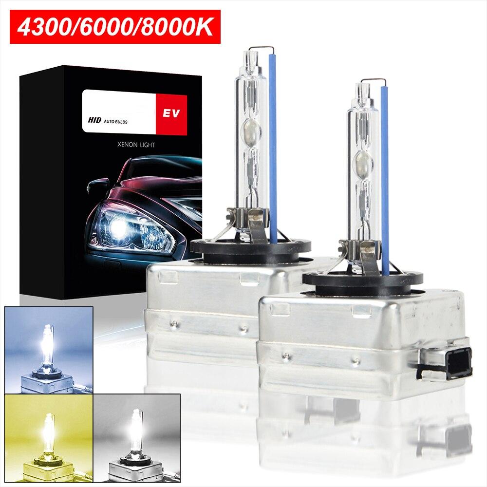 Супер яркие фары D1S Xenon HID Автомобильная Лампа 35 Вт 4300 лм Автомобильные фары 6000k 8000K Комплект