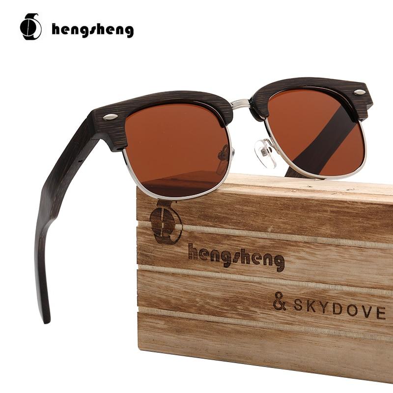 Skydove semi-sem aro óculos de sol de madeira real dos homens óculos de sol marca designer tons para mulher luxo