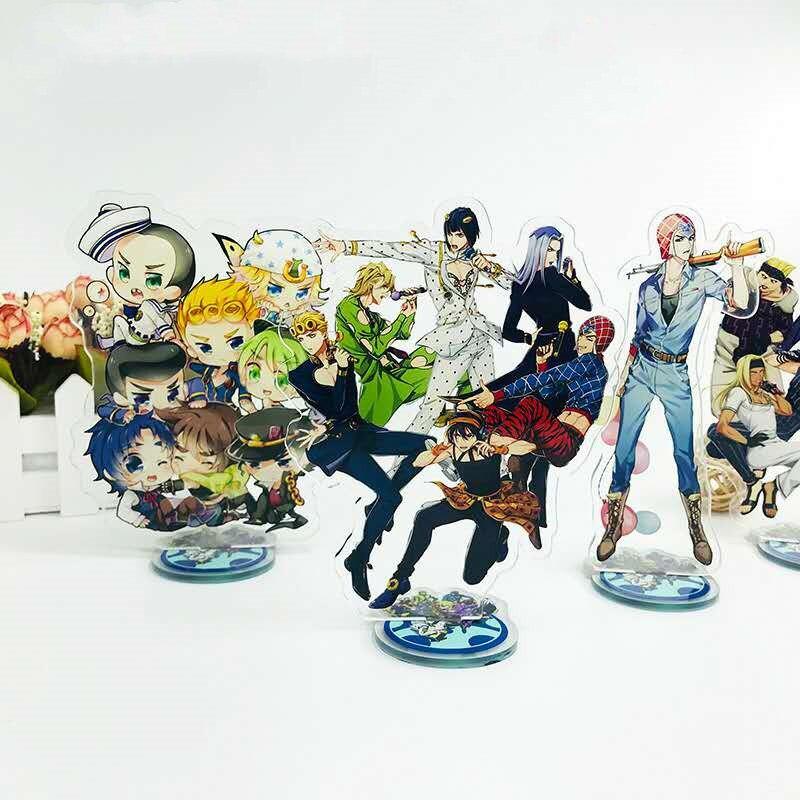 LLavero de la extraña aventura de Jojo de dibujos animados de Anime, colección de Anime Yoshikage de Kujo Jotaro kilogramo Yoshikage, regalos para niños de Japón