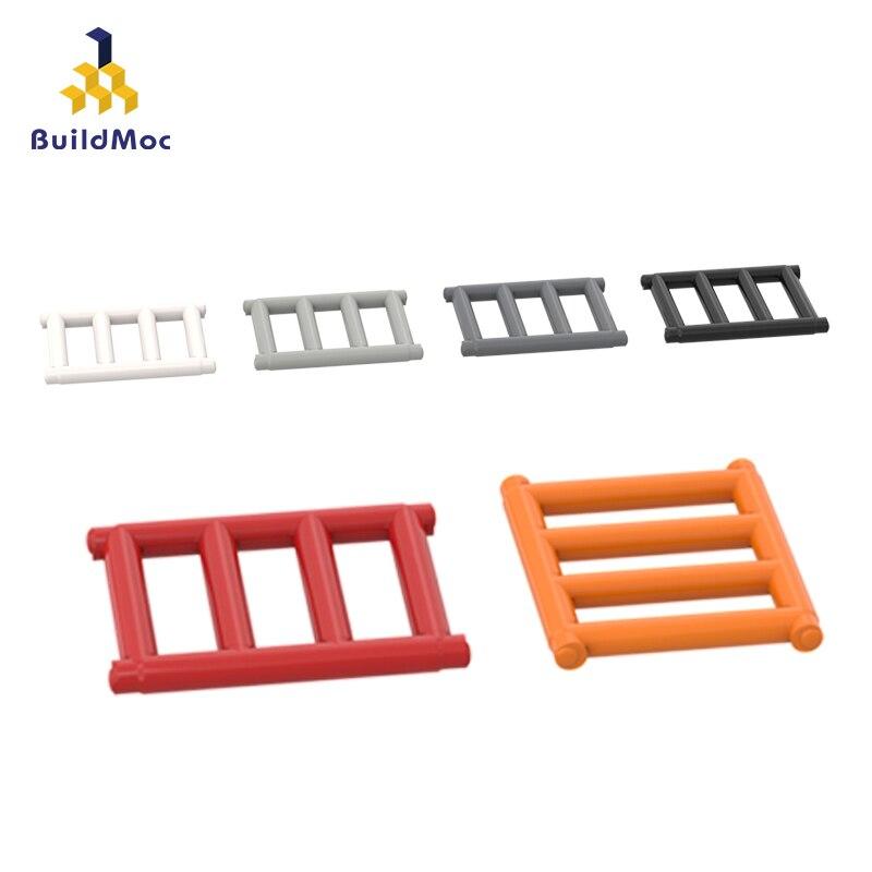 BuildMOC Compatible con ensamblaje de partículas de rejilla piezas de bloques de construcción DIY LOGO creativos educativos regalos Juguetes