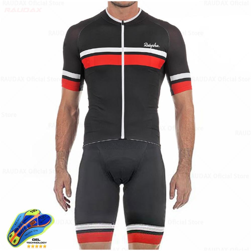 Conjunto de ropa de Ciclismo de manga corta para Hombre conjunto de...